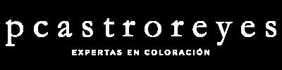 Logotipo Salón Pcastroreyes en blanco grande